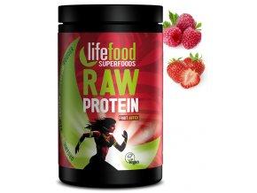 raw protein ovocný