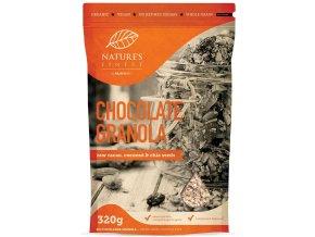 4okoládová granola