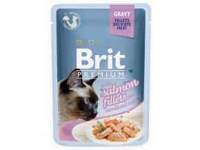 brit salmon f gravy