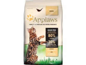 Applaws Cat Dry Adult Chicken 2 kg