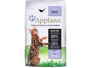 Applaws Cat Dry Adult Duck 7,5 kg