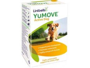 Lintbells YuMOVE Active pro psy 60 žvýkacích tablet