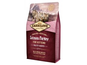 Carnilove Cat Kitten Salmon & Turkey Grain Free 2 kg