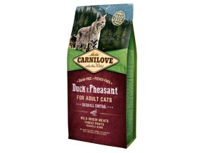 Carnilove Cat Adult Duck & Pheasant Grain Free 6 kg