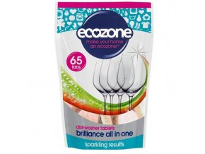 ecozone tablety do mycky brilliance 65 ks