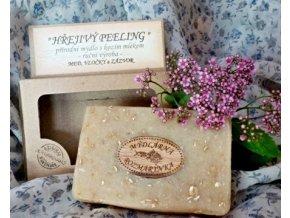 mydlo hrejivy peeling