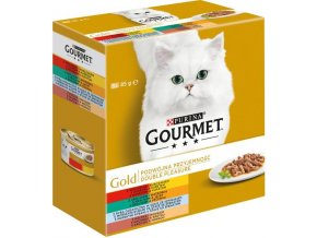 Gourmet Gold cat konz.-gril.k. Mix Multipack 7 + 1 ks zd. x 85 g