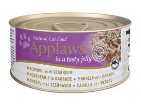 Applaws Cat konz. makrela a pražma v aspiku 70 g