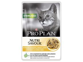 PRO PLAN Cat kaps. Sterilised Chicken 85g