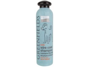 Greenfields šampon dog Wire coat shampoo 250 ml