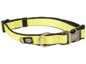 Obojek nylon North žlutá 2x35-55cm Duvo+