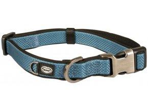 Obojek nylon North modrý 1,5x20-35cm Duvo+