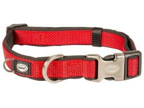 Obojek nylon North červený 2,5x40-65cm Duvo+