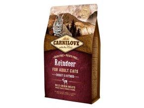 Carnilove Cat Adult Reindeer Grain Free 6 kg