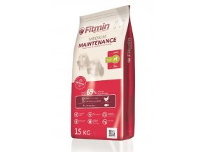 FITMIN Medium Maintenance 15 kg  + pamlsek WOOLF 100g