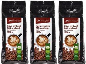 kava zrnkova bio prazena 1000gg
