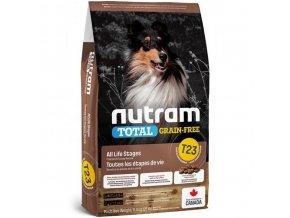 NUTRAM Total Grain Free Turkey Chicken Duck Dog 13,6 kg