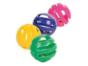 sada plastových míčků
