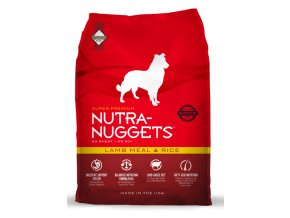 nutra nuggets lamb rice