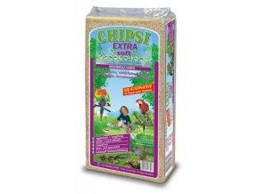 CHIPSI EXTRA SOFT 50 L / 8 kg dřevěné štěpky ze smrkového dřeva