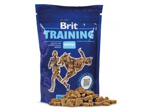 brit training puppies