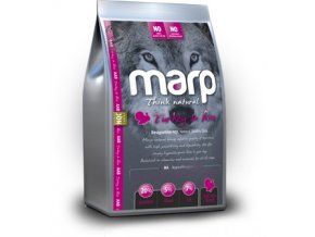 MARP Natural Farmfresh Turkey and Rice Adult 18 kg  + konzerva MARP 400g