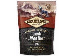 CARNILOVE Lamb & Wild Boar Grain Free 1,5 kg
