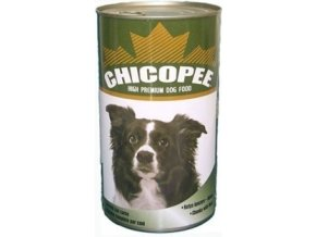 CHICOPEE konzerva kuře&krůta pro psy 1230g