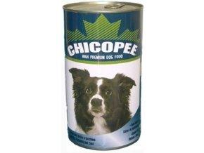 CHICOPEE konzerva jehněčí s rýží pro psy 1230g