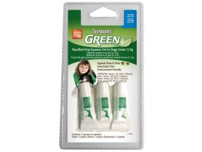 SERGEANTS Green Spot-on do 12 kg 3x1,5ml