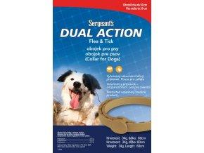 SERGEANTS Dual Action antiparazitní obojek pro psy 60cm