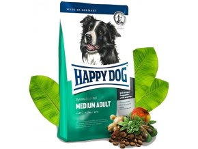 HAPPY DOG Supreme Fit & Well Adult Medium 2 x 12,5 kg