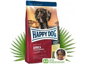 HAPPY DOG Supreme Sensible Africa 2 x 12,5 kg