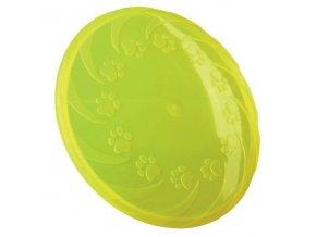 Létající talíř střední 22 cm, termoplast.guma TPR, robustní