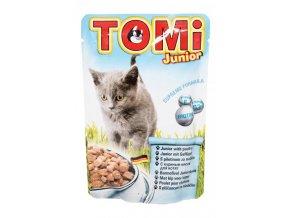 TOMI kapsička JUNIOR pro koťata 100g