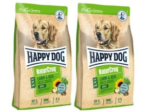 HAPPY DOG NATUR-Croq Lamm & Reis 2 x 15 kg