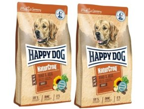 HAPPY DOG NATUR-Croq Rind & Reis 2 x 15 kg