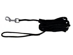 Prodlužovací vodítko šňůra 5 m/5 mm - černá