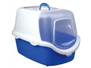 WC VICO kryté s dvířky a filtrem, EASY CLEAN 56x40x40cm - modro/bílé