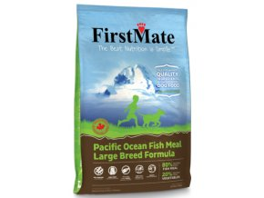pacific ocean fish meal large breed formula