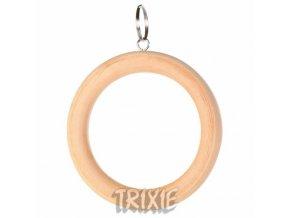 Houpačka dřevěný kruh 15cm