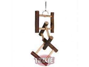 Hračka rozřezaný žebřík 12 příček 58cm