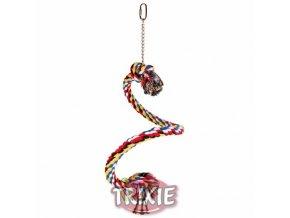Houpačka bavlněné lano spirála 50cm