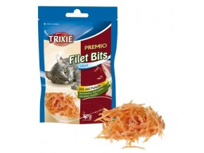 TRIXIE Premio FILET BITS Light - kuřecí filetky 50g
