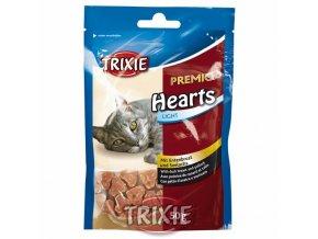 TRIXIE Premio HEARTS light- srdíčka z kachních prsíček a lososa 50g