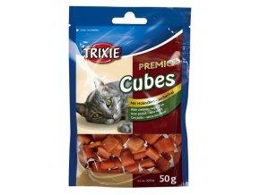 TRIXIE Premio CUBES - kuřecí kostičky 50g