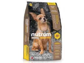 nutram total grain free salmon trout dog bezobilne krmivo losos a pstruh pro psy malych plemen