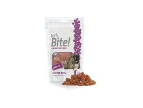 BRIT Care CAT Let´s Bite! Chicken bites 80g