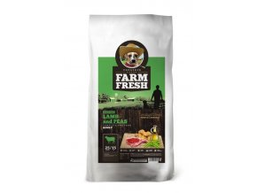 FARM FRESH Lamb & Peas Grain Free 15 kg