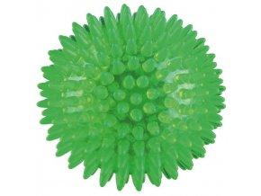 TRIXIE ježatý míček pevný plast (TPR) 12cm